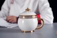 """內蒙古瓷器茶杯咖啡杯榮朝瓷器""""黃金家族""""公主杯"""