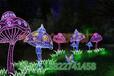 水滴造型燈步行街裝飾來圖來樣