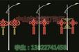 可定制孔雀開屏造型燈掛樹掛件