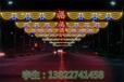 誠信科技之星造型燈武威林園燈光美化