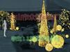街景装饰亮化富强造型灯厂家生产
