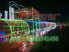 小区亮化滴胶天鹅造型灯厂家生产
