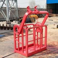 塔吊载人吊篮市政作业修灯吊车多功能吊篮360度旋转吊篮图片