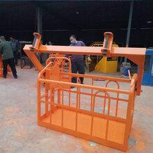 塔吊外墙施工吊篮建筑工地吊车吊笼1.5米吊车顶框定做图片