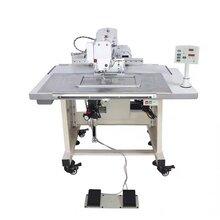 电脑花样机厂家花式缝纫机缝皮标打岔缝机触摸屏兄弟款侧滑电脑车图片