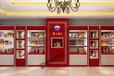 贵州茅台酒展示柜陈列柜设计定制福州大德展柜厂生产安装