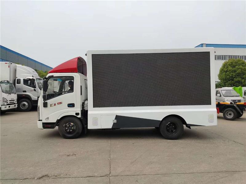 慶陽4.2米廣告宣傳車價格多少錢