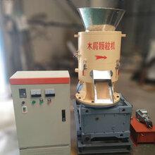 绿尚木屑颗粒机厂家推荐平模木屑颗粒机便宜好用图片