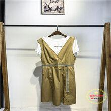 恩瑞妮舒适款连衣裙19夏季女装高端品牌服饰特价清仓