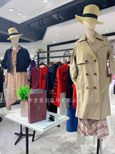 广州品牌女装库存批发贝茜妮田园风连衣裙尾货市场