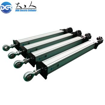 深圳国产品牌伺服电动缸厂家工业级电推杆行程推力可非标定制