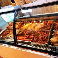 驻马店全铜管熟食柜、卤味展示柜均衡保鲜图片
