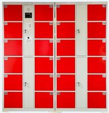 重庆存包柜超市自动存包柜智能刷卡寄存柜储物柜生产厂家直销图片