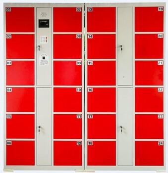 重庆存包柜电子密码储物柜超市商场条码存包柜重庆生产厂家