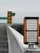 立達通霧天公路誘導燈,河南省太陽能霧區警示燈品質優良