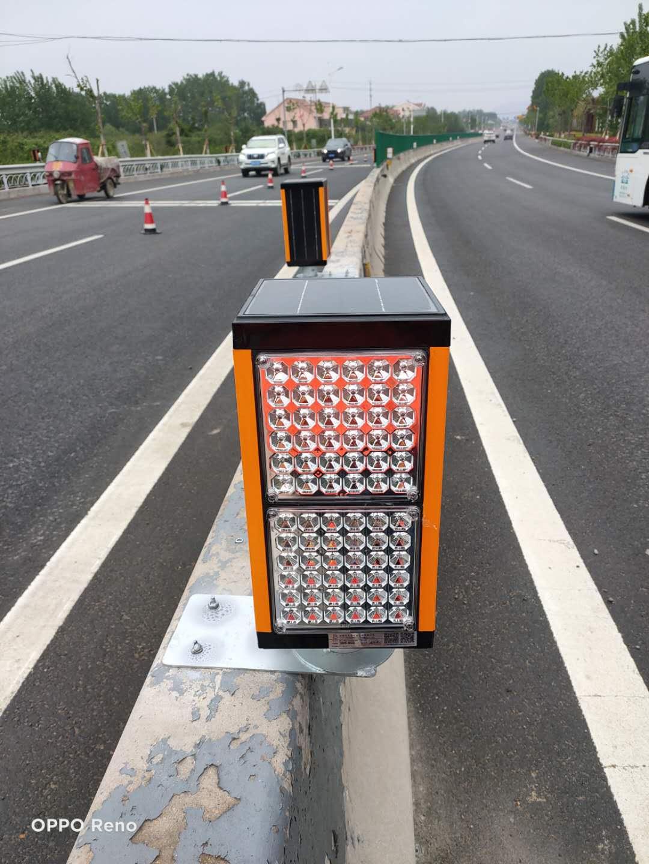 牢固雾天公路行车安全诱导装置性能可靠