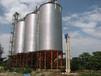 智能糧倉含通風系統的鋼板倉平底倉