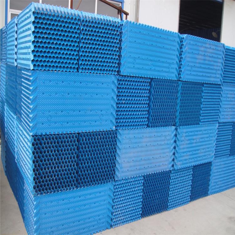 透明s波填料冷却塔填料改性PVC填料玻璃钢淋水填料
