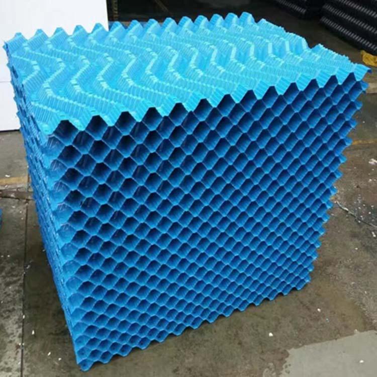 高效节能冷却塔填料/圆形逆流塔填料/凉水塔填料分类