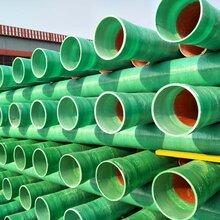 河北衡水玻璃钢管道玻璃钢夹砂管玻璃钢排污管道