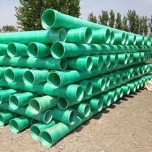 生產玻璃鋼夾砂管道高壓玻璃鋼管道供排水管道圖片
