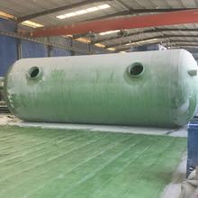 化糞池簡介/環保型玻璃鋼化糞池適用范圍圖片