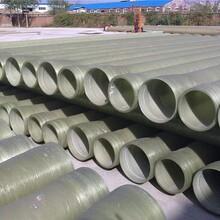 廠家生產玻璃鋼通風管道市政排水管道有機玻璃鋼風管圖片