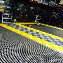 耐磨防滑玻璃鋼格柵/FRP格柵/玻璃鋼棧道格柵板種類圖片