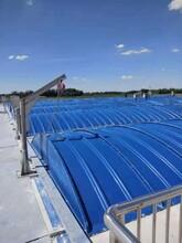 生產藍色玻璃鋼拱形蓋板及溝蓋/玻璃鋼臭氣收集罩實力品牌圖片