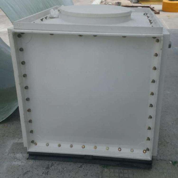 生产消防贮水玻璃钢水箱食品级树脂玻璃钢水箱工厂自营