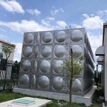 长春50立方玻璃钢组合水箱/建筑玻璃钢水箱图片