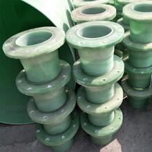 重慶玻璃鋼管道法蘭規格/玻璃鋼法蘭成品現貨圖片