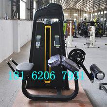 健身房用固定力量训练器俯卧屈腿训练器美能达健身器材厂家图片