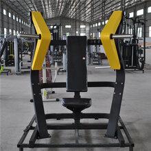 商用健身器材大全坐式推胸训练器山东健身器材厂家图片