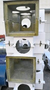 管道玻璃钢阀门保温罩壳玻璃钢阀门保温壳厂家