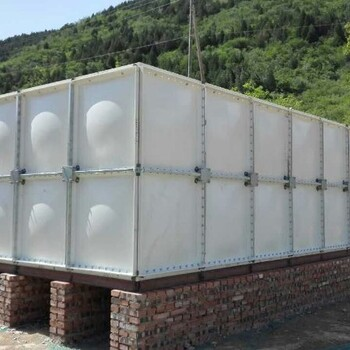 玻璃钢储水箱玻璃钢组装水箱模压玻璃钢水箱