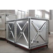 撫州浩凱生產鍍鋅水箱/100噸不銹鋼水箱工廠價圖片