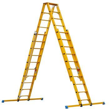 玻璃钢绝缘梯子玻璃钢梯子玻璃钢爬梯单梯玻璃钢人字梯