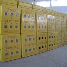 玻璃钢燃气表箱/六表位配电箱/室外玻璃钢燃气表箱图片
