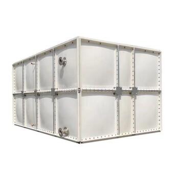 玻璃钢水箱食品级玻璃钢模压水箱生活饮用水箱