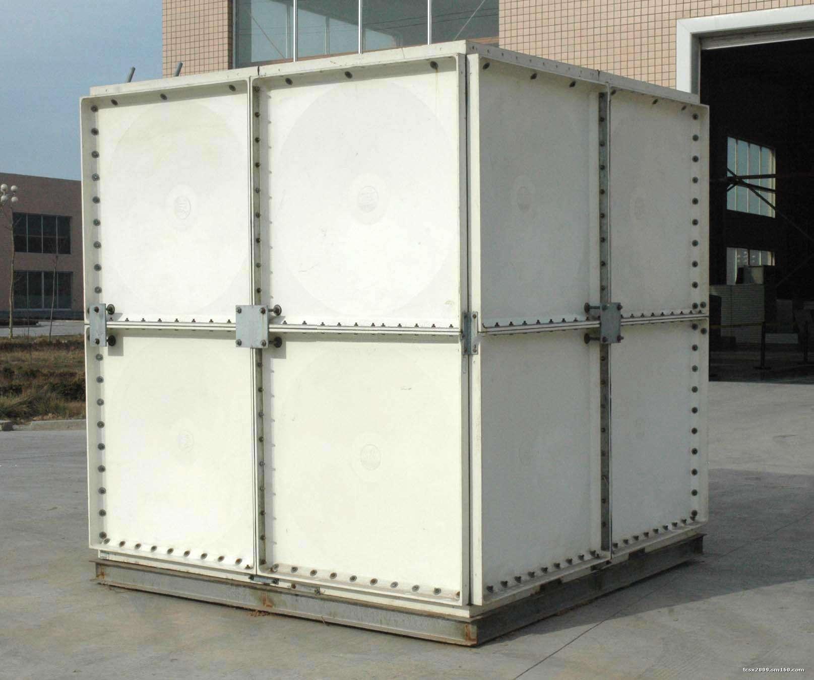 赤峰SMC生活储水箱玻璃钢常温水箱工厂