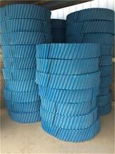 河北棗強圓塔填料散熱片--冷卻塔淋水填料--降溫填料圖片