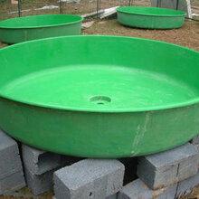 小型玻璃钢鱼池--玻璃钢鱼缸--养鱼盆尺寸可定制图片