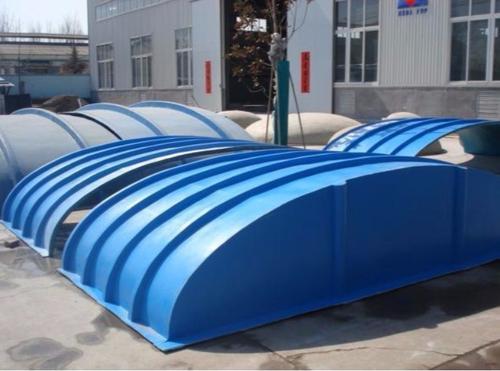 九江玻璃钢拱形盖板长度/大跨度池体盖板工厂