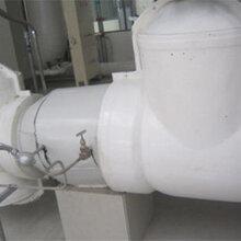乳白色管道閥門保溫殼玻璃鋼防火保溫罩節能減排