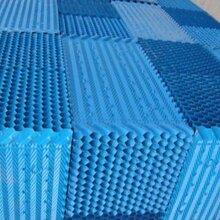 100噸標準型冷卻塔專用填料山西斜交錯填料使用壽命圖片