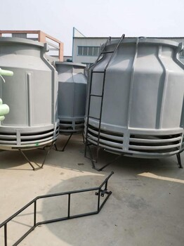 浩凯玻璃钢冷却塔结构/100吨逆流式冷却塔空调制冷设备