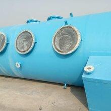 浩凱玻璃鋼生產玻璃鋼噴淋塔玻璃鋼酸霧凈化塔型號圖片