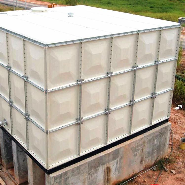 濮阳农业灌溉水箱/玻璃钢大型储水箱安装方案
