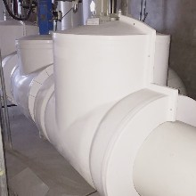 玻璃鋼閥門保溫隔熱罩殼-DN200玻璃鋼防護罩殼